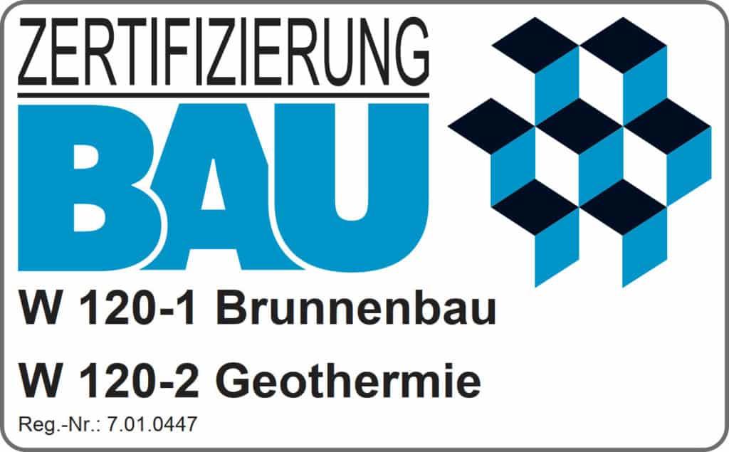 Zertifizierung für Brunnenbau u. Geothermie